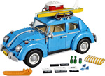10252 ЛЕГО МОДЕЛИ ГОЛЯМ МАЩАБ - Фолксваген Бийтъл<br><small>Hard to find<br>10252 LEGO LARGE SCALE MODELS - Volkswagen Beetle</small>