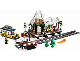 10259 ЛЕГО КРИЕЙТЪР ЕКСПЕРТ - Зимна гара<br><small>10259 LEGO CREATOR EXPERT - Winter Village Station</small>