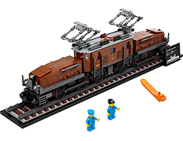 10277 ЛЕГО КРИЕЙТЪР ЕКСПЕРТ - Локомотив <i>Крокодил</i> <br> <small> 10277 LEGO CREATOR EXPERT- Crocodile Locomotive </small>