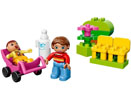 10585 ЛЕГО ДУПЛО - Майка с бебе<br><small>10585 LEGO DUPLO - Mother with Baby</small>