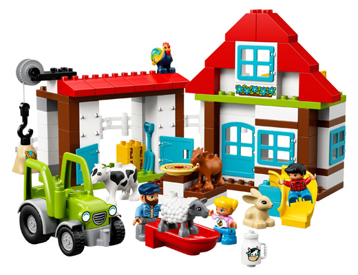 10869 ЛЕГО ДУПЛО - Фермерски приключения<br><small>10869 LEGO DUPLO - Farm Adventures</small>