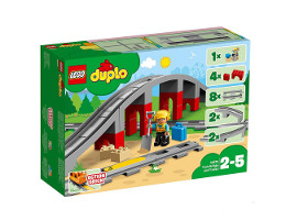 10872 ЛЕГО ДУПЛО - Мост и релси за влак<br><small>10872 LEGO DUPLO - Train Bridge and Tracks</small>