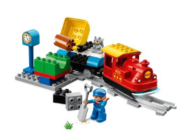 10874 ЛЕГО ДУПЛО - Парен влак<br><small>10874 LEGO DUPLO - Steam Train</small>