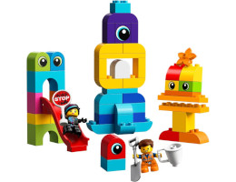 10895 ЛЕГО ДУПЛО - Посетителите на Емет и Люси от планета DUPLO®<br><small>10895 LEGO DUPLO - Emmet and Lucy's Visitors from the DUPLO® Planet</small>