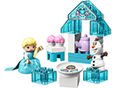 10920 ЛЕГО ДУПЛО – Чаеното парти на Елза и Олаф<br><small> 10920 LEGO DUPLO – Elsa and Olaf's Tea Party</small>