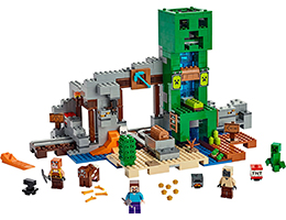 21155 ЛЕГО МАЙНКРАФТ- Мина Крийпър<br><small>21155 LEGO MINECRAFT - The Creeper Mine</small>