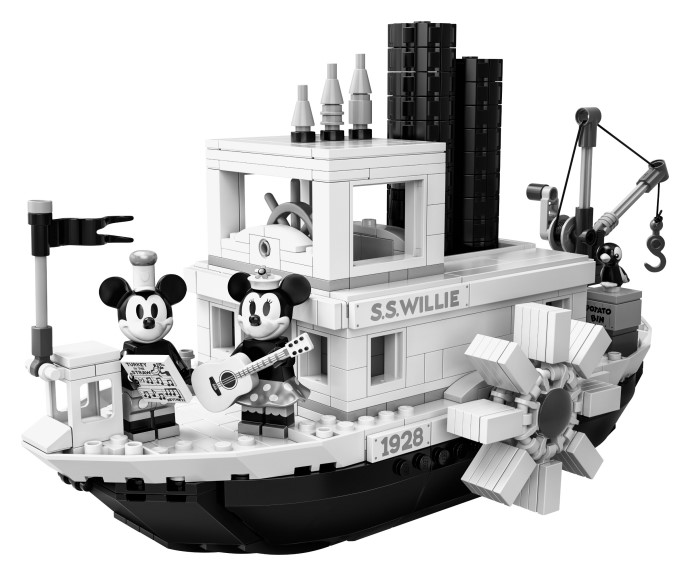Hard to find<br>21317 Steamboat Willie