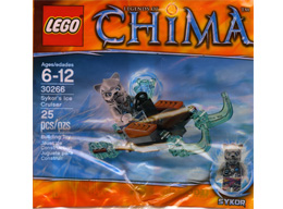 30266 ЛЕГО ЧИМА - Ледохода на Сайкор<br><small>30266 LEGO CHIMA - Sykor`s Ice Cruiser</small>