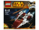 30272 ЛЕГО СТАР УОРС - А-крилен изтребител<br><small>30272  LEGO STAR WARS - A-Wing Starfighter</small>