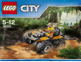 30355 ЛЕГО СИТИ - ATV в Джунглата <br><small> 30355 LEGO CITY - Jungle ATV</small>