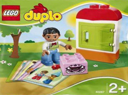40267 ЛЕГО ДУПЛО - Намери двойка<br><small>40267 LEGO DUPLO - Find a Pair Pack</small>