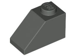 Покривна плочка 1X2/45°  [4121970]<br><small>Roof Tile 1X2/45° [4121970]</small>