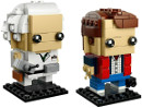 41611 ЛЕГО БРИКХЕДЗ - Марти Макфлай и Д-р Браун<br><small>41611 LEGO BRICKHEADZ - Marty McFly & Doc Brown</small>