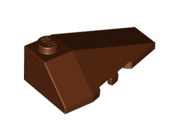 Дясна покривна плочка 2X4 с ъгъл [6020148; 4180422]<br><small>Right Roof Tile 2X4 W/Angle [6020148; 4180422]</small>