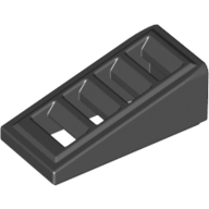 Покривна плочка с решетка 1X2x2/3 [4541191]<br><small>Roof Tile W. Lattice 1X2x2/3 [4541191]</small>