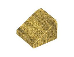Покривна плочка 1X1x2/3 [4587002]<br><small>Roof Tile 1X1x2/3 [4587002]</small>