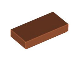 Плоска плочка 1X2 [4614158]<br><small>Flat Tile 1X2 [4614158]</small>