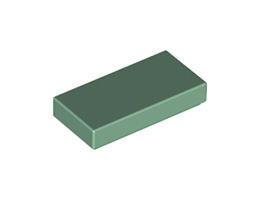 Плоска плочка 1X2 [4616578]<br><small>Flat Tile 1X2 [4616578]</small>