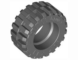 Гума обикновена широка O30,4 X 14 мм, нова [4619323]<br><small>Tyre Normal Wide O30,4 X 14 mm, new [4619323]</small>