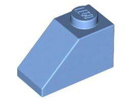 Покривна плочка 1X2/45°  [4626883]<br><small>Roof Tile 1X2/45° [4626883]</small>