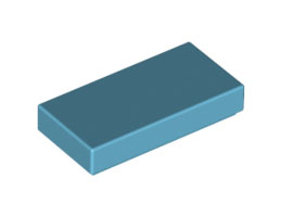 Плоска плочка 1X2 [4649741]<br><small>Flat Tile 1X2 [4649741]</small>