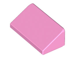 Покривна плочка 1X2X2/3 [4649749]<br><small>Roof Tile 1 X 2 X 2/3, Abs [4649749]</small>