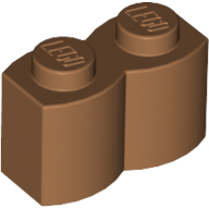 Палисадна тухличка 1x2 [4651231]<br><small>Palisade Brick 1X2 [4651231]</small>