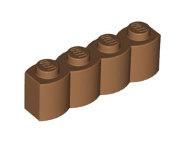Палисадна тухличка 1X4 [4651232]<br><small>Palisade Brick 1X4 [4651232]</small>