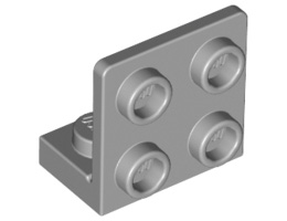 Ъглова плочка 1X2 / 2X2 долна [4654580]<br><small>Angle Plate 1X2 / 2X2 Bot. [4654580]</small>