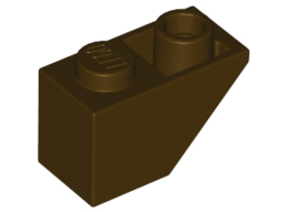 Покривна плочка 1X2 инверсна [4654915]<br><small>Roof Tile 1X2 Inv. [4654915]</small>