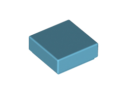 Плоска плочка 1X1 [4655243]<br><small>Flat Tile 1X1 [4655243]</small>