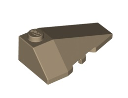Дясна покривна плочка 2X4 с ъгъл [6004712]<br><small>Right Roof Tile 2X4 W/Angle [6004712]</small>