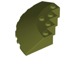 Кръг 90 6Х6 покривна плочка [6016465]<br><small>Circle 90G 6X6 Roof Tile [6016465]</small>
