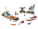 60167 ЛЕГО СИТИ – Брегова охрана - щаб<br><small>60167 LEGO CITY – Coast Guard Head Quarters</small>