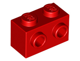 Тухличка 1X2 с 2 пъпки [6019155]<br><small>Brick 1X2 W. 2 Knobs [6019155]</small>