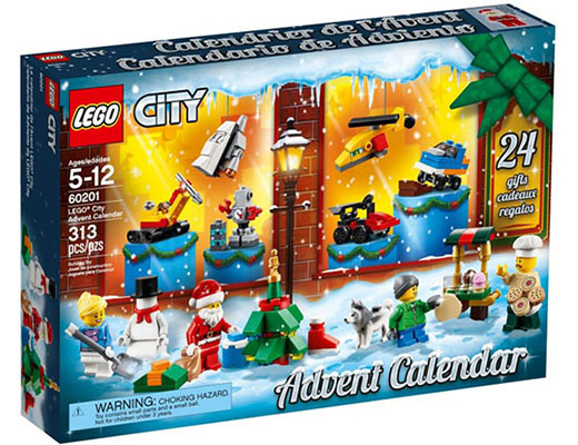 60201 ЛЕГО СИТИ - Коледен календар 2018 <br><small> 60201 LEGO CITY - Advent Calendar</small>