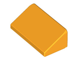 Покривна плочка 1X2x2/3 [6024286]<br><small>Roof Tile 1 X 2 X 2/3, Abs [6024286]</small>
