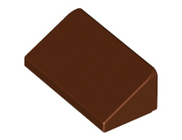 Покривна плочка 1X1x2/3  [6035291]<br><small>Roof Tile 1 X 2 X 2/3, Abs [6035291]</small>