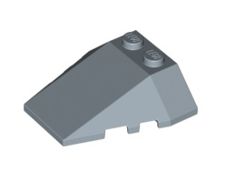 Покривна плочка 4X2/18° [6051598]<br><small>Roof Tile 4X2/18° W/Cor. [6051598]</small>