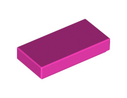 Плоска плочка 1X2 [6056381]<br><small>Flat Tile 1X2 [6056381]</small>