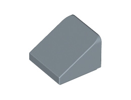 Покривна плочка 1X1x2/3 [6062686]<br><small>Roof Tile 1X1X2/3, Abs [6062686]</small>