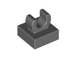 Plate 1X1 W. Up Right Holder [6071226]
