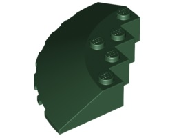 Кръг 90 6Х6 покривна плочка [6080436]<br><small>Circle 90G 6X6 Roof Tile [6080436]</small>