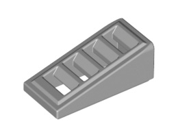 Покривна плочка с решетка 1X2x2/3 [6092111]<br><small>Roof Tile W. Lattice 1X2x2/3 [6092111]</small>