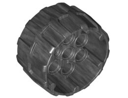 Колело Ø37/22 с дупки 4.85 [6122170]<br><small>Space Wheel Ø37/22 W/4.85 Hole [6122170]</small>
