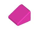 Покривна плочка 1X1x2/3 [6127601]<br><small>Roof Tile 1X1x2/3, Abs [6127601]</small>