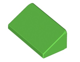 Покривна плочка 1X2x2/3 [6138510]<br><small>Roof Tile 1 X 2 X 2/3, Abs [6138510]</small>