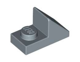 Покривна плочка 1X2 45° с плочка 1х1 [6139519]<br><small>Roof Tile 1X2 45° W 1/3 Plate [6139519]</small>