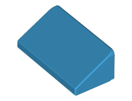 Покривна плочка 1X1x2/3 [6151663]<br><small>Roof Tile 1 X 2 X 2/3, Abs [6151663]</small>