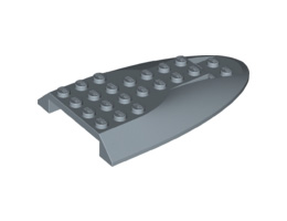 Покривна плочка 6X10 с двойна извивка [6167206]<br><small>Roof Tile 6X10 W. Double Bow [6167206]</small>